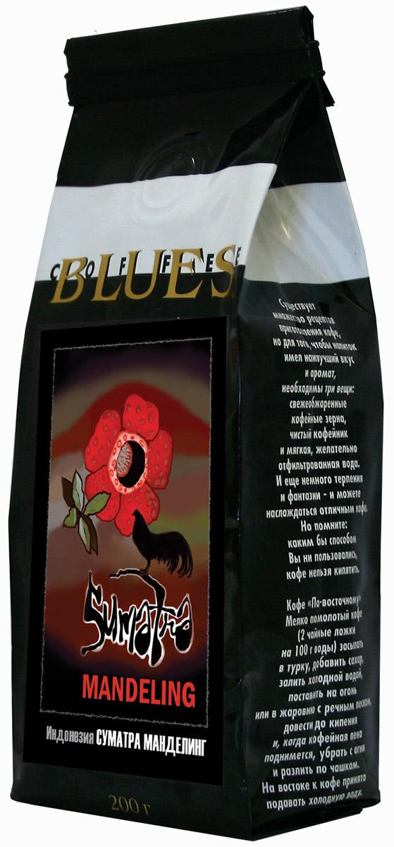 Блюз Индонезия Суматра Манделинг кофе в зернах, 200 г4600696220049Блюз Индонезия Суматра Манделинг - превосходный кофе с острова Суматра (Индонезия). Сорт выращивается народом Манделинг (от которого и получил своё название) в северном районе Tapanuli. Напиток имеет терпкий, насыщенный вкус с орехово-хлебным привкусом и сильным ароматом. Его настой насыщенный, а в букете заметно преобладание орехово-земляных тонов.