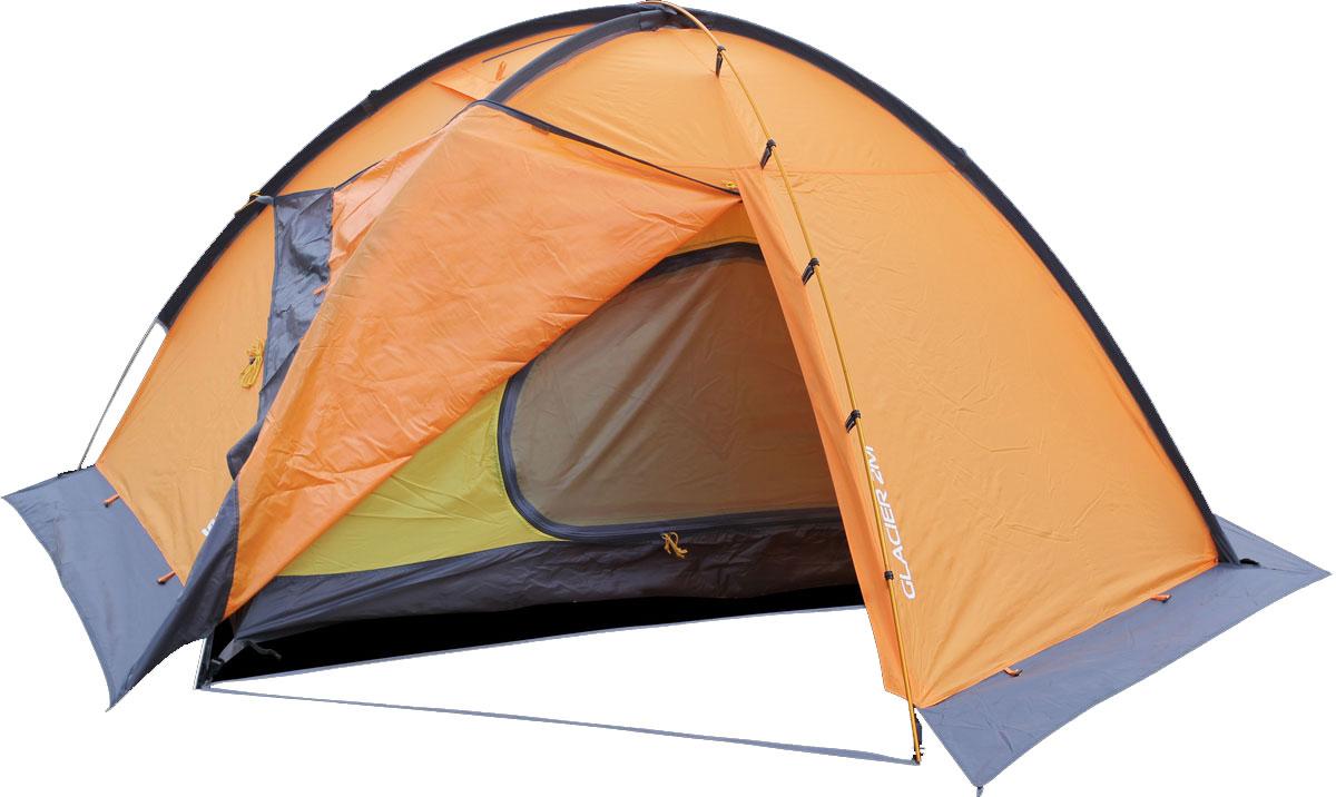 Палатка Сплав Glacier 2M, цвет: оранжевый5060010Универсальная палатка на внешних дугах с большим внутренним объёмом и высокой ветроустойчивостью Тент и палатка могут устанавливаться одновременно Возможна установка отдельно тента без внутренней палатки Два входа, два тамбура Ветрозащитная юбка по всему периметру Масса кармашков внутри палатки Швы тента и дна проклеены Веревки оттяжек имеют вплетенную светоотражающую нить Вентиляционные отверстия над внутренней палаткой можно открывать и закрывать, не выходя из палатки. Количество мест: 2 Габариты и вес: Размеры внешней палатки, тента (Д?Ш?В): 265?230?115 см Размеры спального места (Д?Ш?В): 210?120?105 см Полный вес: 3,5 кг