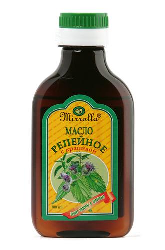 Репейное масло с крапивой 100мл