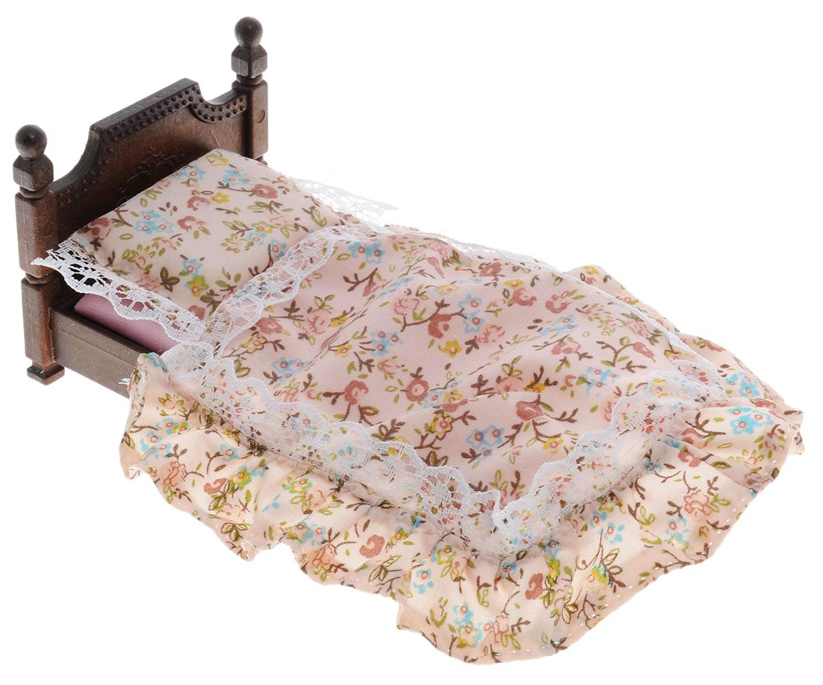 Sylvanian Families Игровой набор Большая кровать5223Игровой набор Sylvanian Families Большая кровать вызовет неописуемый восторг у маленькой хозяюшки. В комплект входит большая кровать и постельные принадлежности. С такой игрушкой можно весело проводить время и укладывать свои игрушки спать в кроватку. Компания Sylvanian Families была основана в 1985 году, в Японии. Sylvanian Families очень популярна в Европе и Азии и, за долгие годы существования, компания смогла добиться больших успехов. 3 года подряд в Англии бренд Sylvanian Families был признан Игрушкой Года. Сегодня у героев Sylvanian Families есть собственное шоу, полнометражный мультфильм и сеть ресторанов, работающая по всей Японии. Sylvanian Families - это целый мир маленьких жителей, объединенных общей легендой. Жители страны Sylvanian Families - это кролики, белки, медведи, лисы и многие другие. У каждого из них есть дом, в котором есть все необходимое для счастливой жизни. В городе, где живут герои, есть школа,...