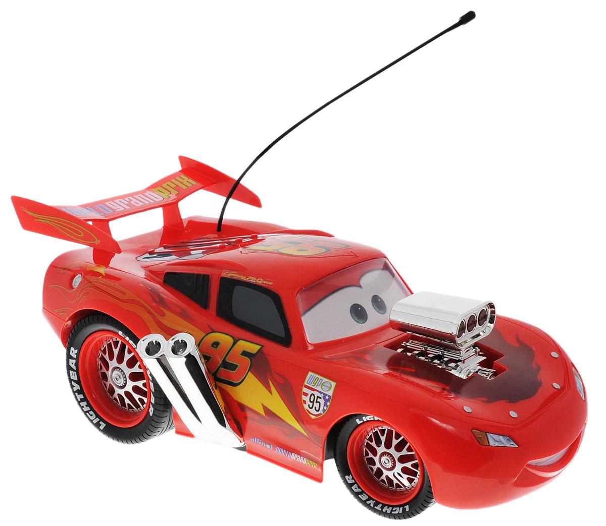 Dickie Toys Машина на радиоуправлении Молния МакКуин масштаб 1:12