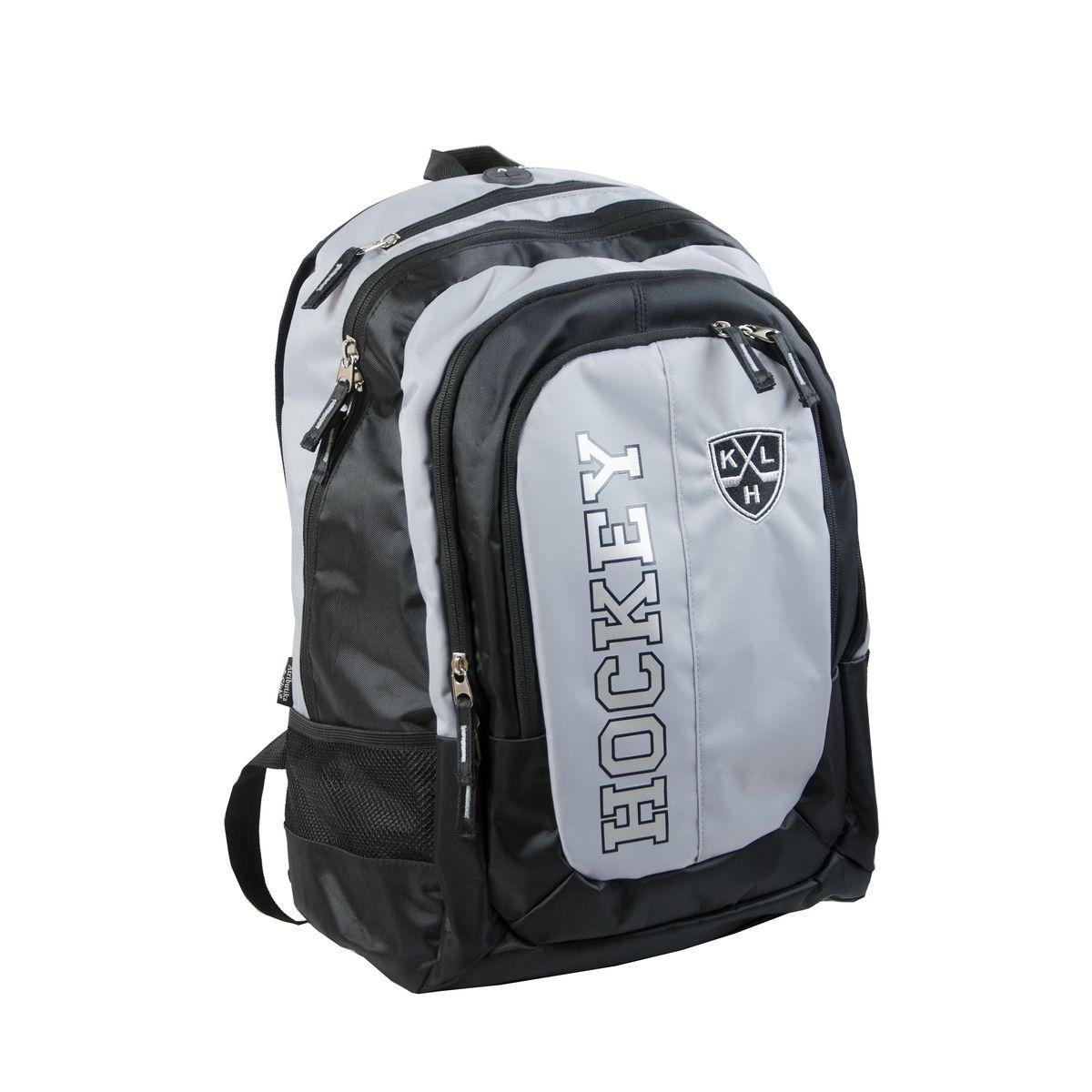Рюкзак спортивный КХЛ, цвет: серо-черный, 18 л. 28217 ( 28217 )
