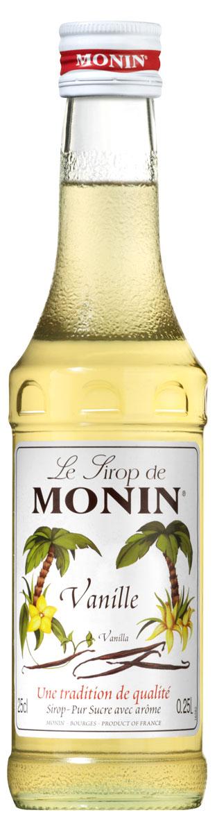 Monin Ваниль сироп, 0.25 л