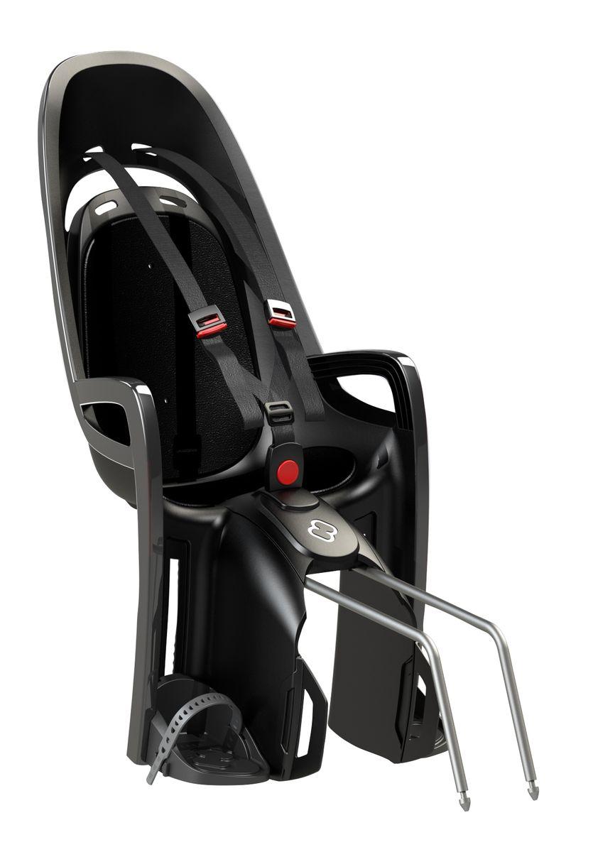 Детское кресло Hamax Caress Zenith, цвет: серый, черный553034Отличительные особенности HAMAX ZENITH от Hamax это отсутствие регулировки угла наклона кресла. Если Вам не нужна данная функция - нет смысла покупать топовую модель. Невероятный комфорт Дополнительные мягкие пряжки для фиксации ребенка в кресле очень легкие и комфортные, но при этом обеспечивают надежную фиксацию ребенка в велокресле, позволяя при необходимости совершать резкие маневры и торможения. Эргономика велокресла рассчитана так что спинка кресла не будет мешать голове ребенка в моменты когда он хочет откинуться назад кресла в шлеме. Механизмы регулировки застежек позволяют комфортно отрегулировать их вместе с ростом ребенка. Мы растем вместе с Вами! Все детские велосиденья Hamax растут вместе с ребенком! Регулируются и ремень безопасности и подножки. Переставляйте детское сиденье для велосипеда между двумя велосипедами Детское сиденье для велосипеда очень легко крепится и освобождается от велосипеда. Приобретая дополнительный кронштейн, вы можете легко переставлять...