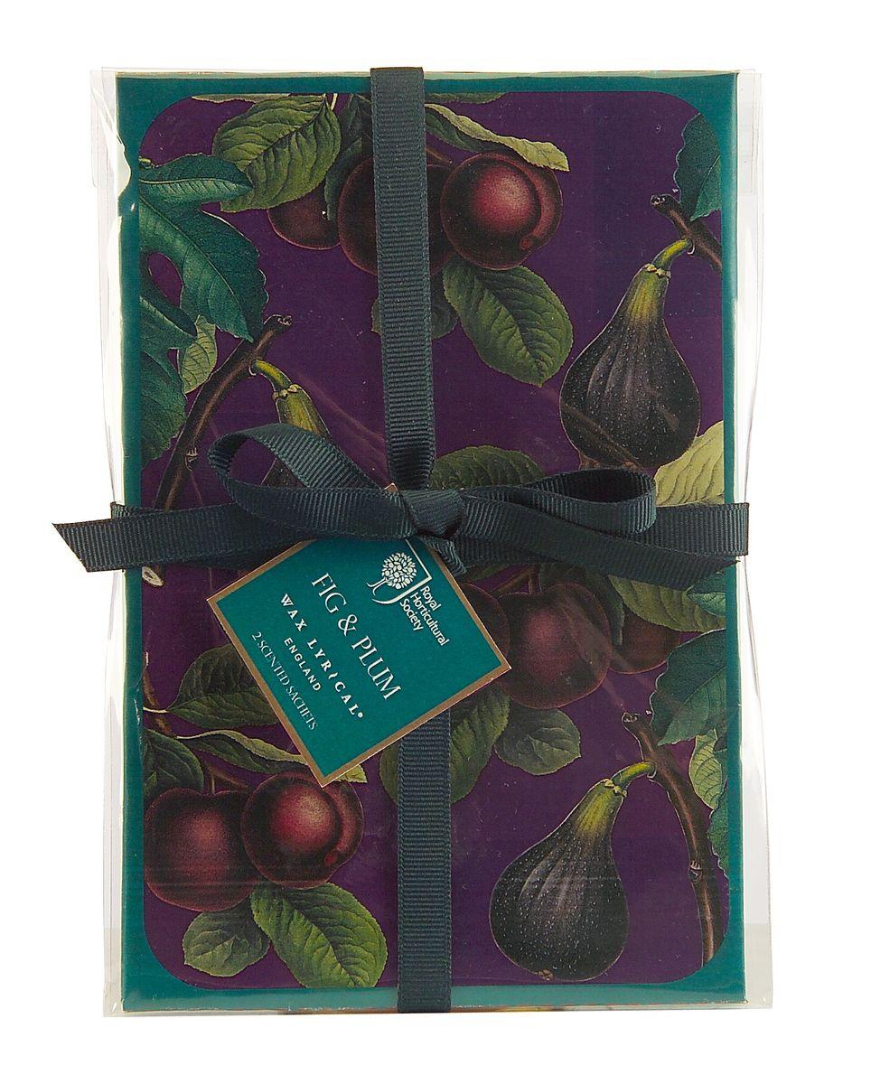 Набор ароматических саше Wax Lyrical Инжир, 2 шт, 45 гRH5642Сочный аромат инжира с оттенком мирабельской сливы и спелого абрикоса на основе нежных и теплых специй.