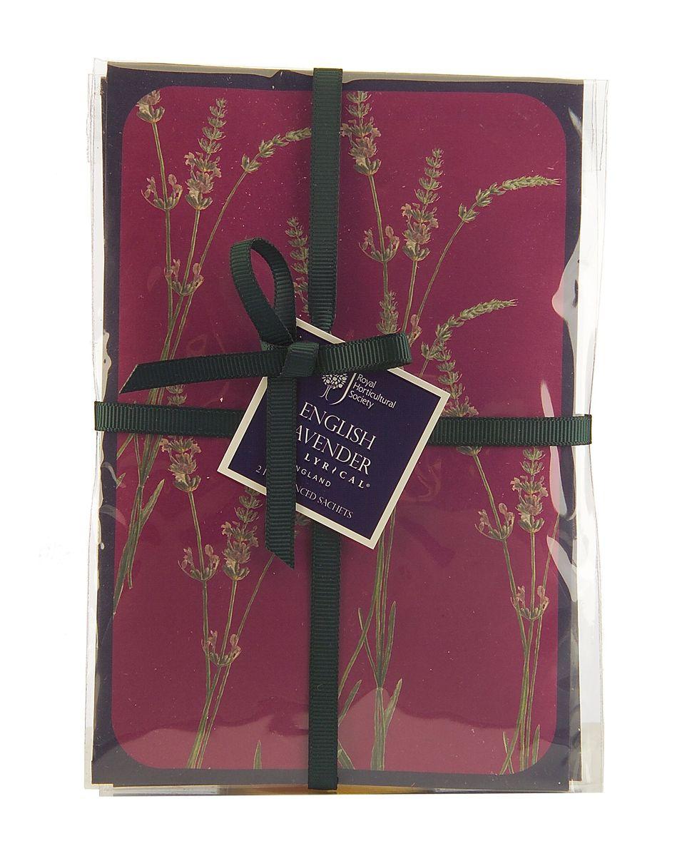 Набор ароматических саше Wax Lyrical Цветущая лаванда, 2 шт, 45 гRH5610Тонкий аромат английской лаванды с нотками жасмина, бергамота и ромашки.