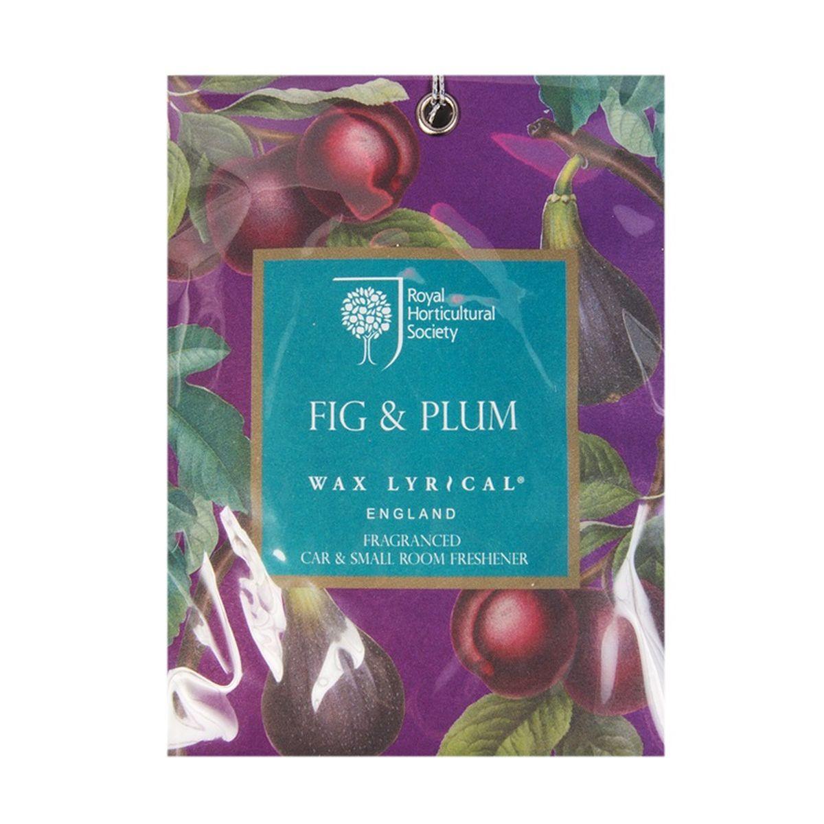 Мини-саше ароматические Wax Lyrical Инжир, 20 гRH5842Сочный аромат инжира с оттенком мирабельской сливы и спелого абрикоса на основе нежных и теплых специй.