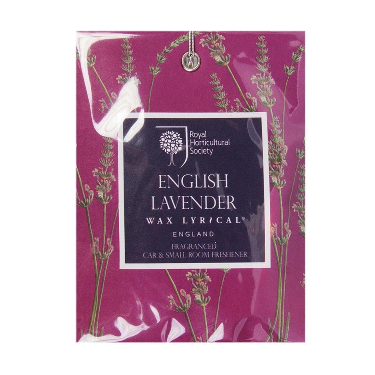 Мини-саше ароматические Wax Lyrical Цветущая лаванда, 20 гRH5810Тонкий аромат английской лаванды с нотками жасмина, бергамота и ромашки.