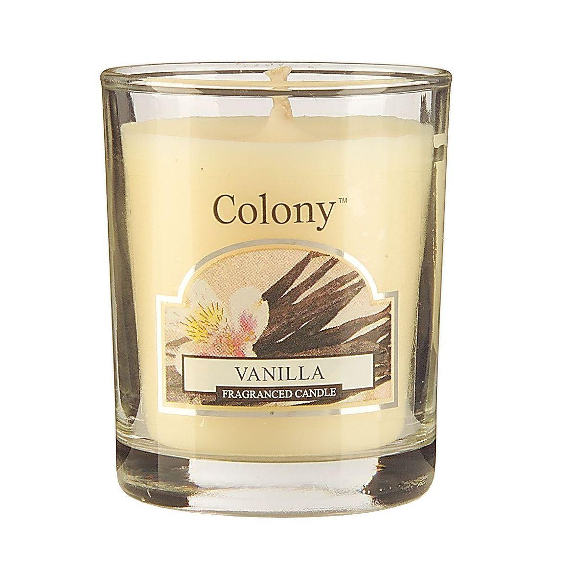 Свеча ароматическая лампадная Wax Lyrical Ваниль, 14 часов, 130 гCH3611Сладкий манящий аромат ванили, миндаля и сливочной помадки.