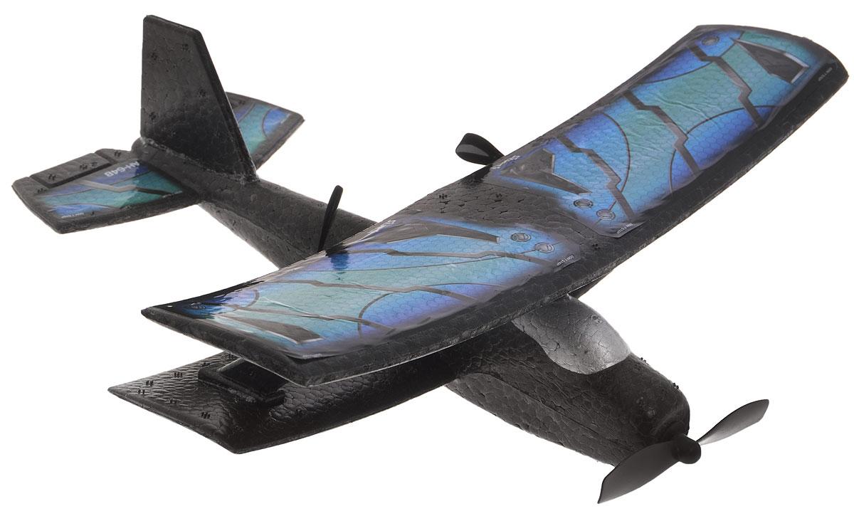 Silverlit Самолет на радиоуправлении Классический цвет синий голубой84741_синий, голубойХотите увидеть, как ваш мальчик прыгает от радости? Подарите ему двухканальный самолет Silverlit Классический на радиоуправлении - его счастью не будет предела. Проверьте сами! Двухканальное управление делает возможными легкий подъем, приземление, поворот влево-вправо, удерживание высоты. Также возможен взлет с руки. Прочный материал, из которого выполнен корпус самолета, легко выдержит падения с высоты, столкновения с деревьями и домами. Управление происходит с помощью пульта управления, который работает на частоте 2,4 GHz. Самолет работает от встроенного аккумулятора (время зарядки составляет 30-45 минут). Для работы пульта управления необходимы 4 батарейки типа АА (в комплект не входят). Максимальное время полета - 4-5 минут.