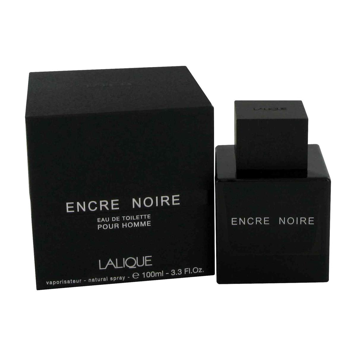 Lalique Encre Noire Туалетная вода мужская спрей 100 млLLQ013201Элегантный древесный аромат Encre Noire построен на гармоничном сочетании бархатистых, глубоких нот бурбонского ветивера и таинственных, чуть пряных нот гаитянского. Данная гармония оттеняется аккордами кипариса, кашемирового дерева и мускуса, добавляющими в аромат чувственности и пламенной страсти.