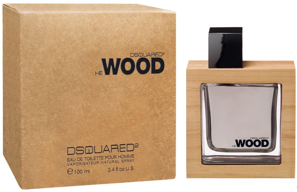 Dsquared He Wood Туалетная вода мужская спрей 100 млDSQ_60002He Wood — это воплощение любви к природе. Создатели бренда, братья Dean и Dan в своем первом аромате воспели северную привлекательность лесов Канады. Концепция аромата построена на запахе самого сильного, прекрасного и роскошного из природных созданий — запахе дерева. Этот аромат посвящен современному мужчине, который ищет в природе путь к свободе и совершенству, и даже флакон аромата объясняет суть этой природной симфонии: дерево украшает название и упаковку аромата обрамлением из канадской красной ольхи.