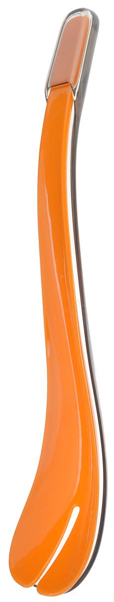 Набор для салата Mayer & Boch, 2 предмета24177_оранжевыйНабор для салата Mayer & Boch, выполненный из пластика, состоит из двух лопаток. Таким набором удобно перемешивать и выкладывать на тарелки зеленые салаты, в которых много нежных листьев и трав. Если перемешивать их простой ложкой - легко помять зелень. Пользуясь же этим набором для смешивания, или как щипцами, чтобы положить салат на тарелку, вы никогда не изомнете салатные листья. Длина прибора: 30,5 см. Ширина рабочей части: 6,5 см.