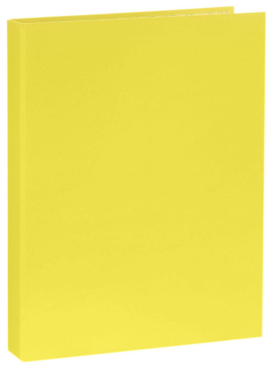 Erich Krause Папка-регистратор на 4 кольцах Neon цвет желтый
