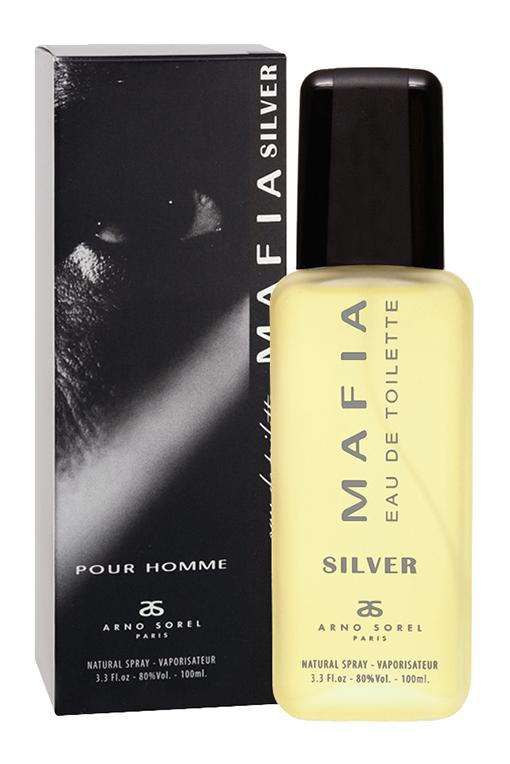 Corania Туалетная вода Mafia Silver (Mafia Silver) мужская 100 мл42692Туалетная вода Mafia Silver откроет новую парфюмерную главу в вашей жизни. Порадует стойким древесно-пряным ароматом, который обязательно заметят родные и близкие. Классификация аромата: древесный, пряный Пирамида аромата: Верхние ноты: бергамот, анис Ноты сердца: эвкалипт, шалфей, лаванда, дубовый мох Ноты шлейфа: белый мускус, пачули, ваниль, сандал Ключевые слова: древесный, мужественный, стойкий