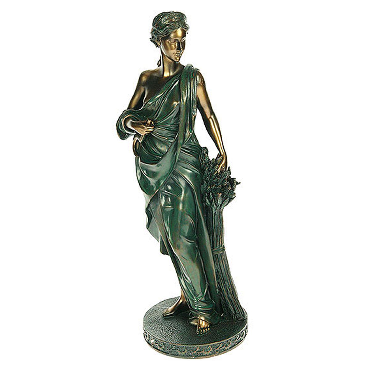 Статуэтка Русские Подарки Греческая богиня плодородия и земледелия - Деметра, 32 см127576