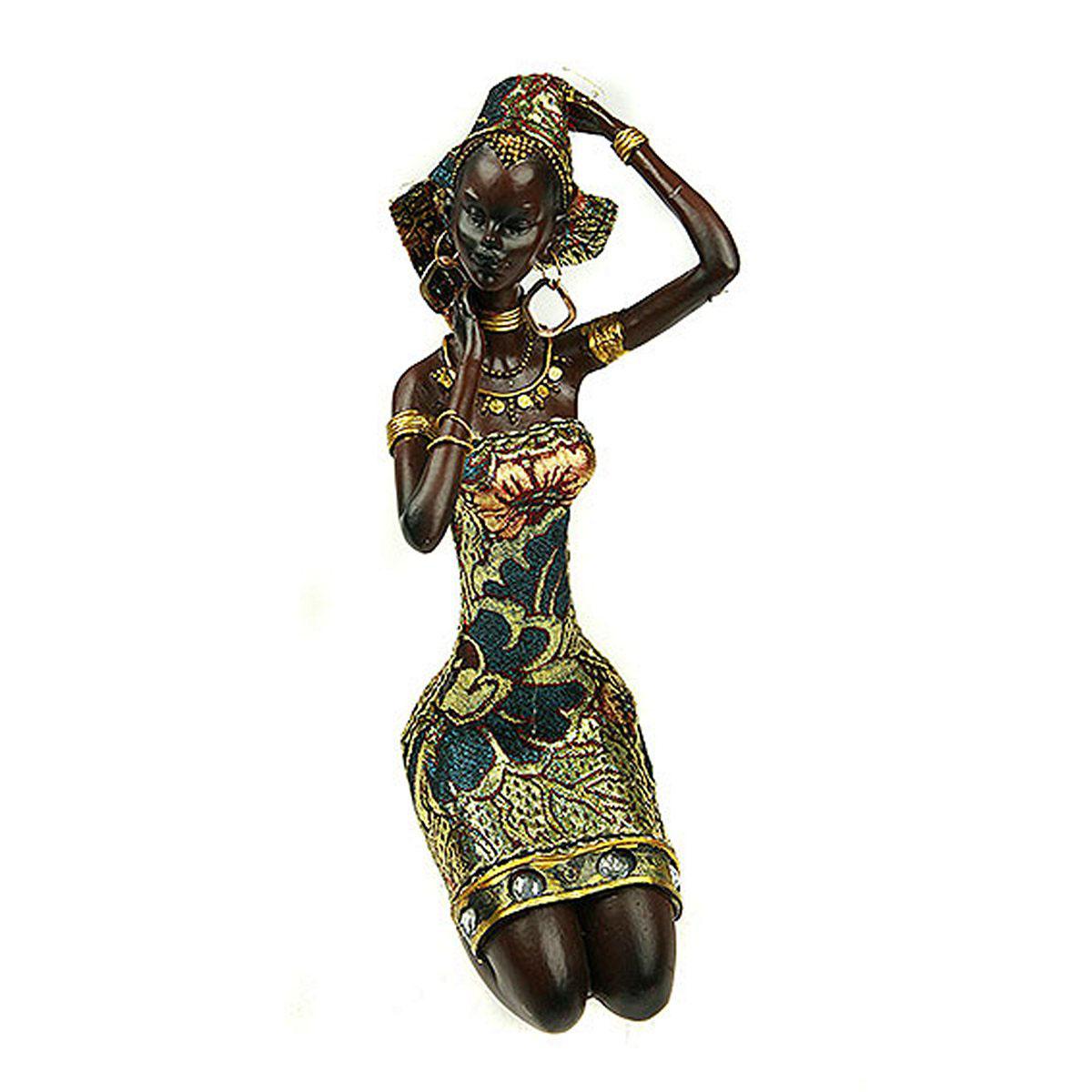 Статуэтка Русские Подарки Африканка, 12 х 12 х 23 см26146Статуэтка Русские Подарки Африканка, изготовленная из полистоуна, имеет изысканный внешний вид. Изделие станет прекрасным украшением интерьера гостиной, офиса или дома. Вы можете поставить статуэтку в любое место, где она будет удачно смотреться и радовать глаз. Правила ухода: регулярно вытирать пыль сухой, мягкой тканью.