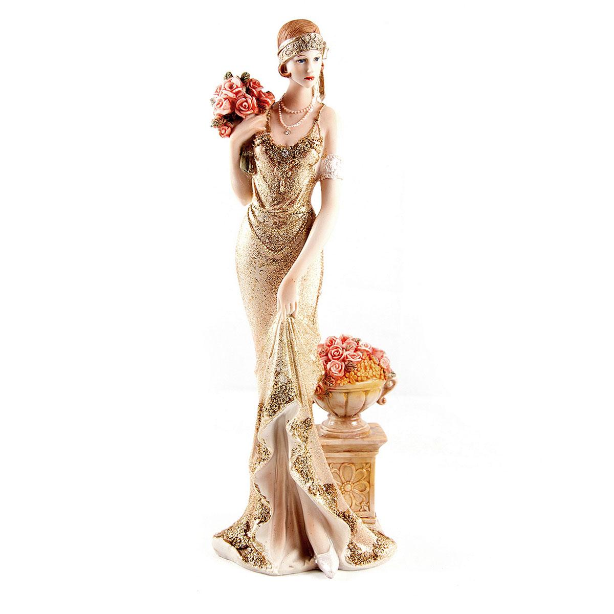 Статуэтка Русские Подарки Мисс Нежность, 13 х 10 х 34 см27632