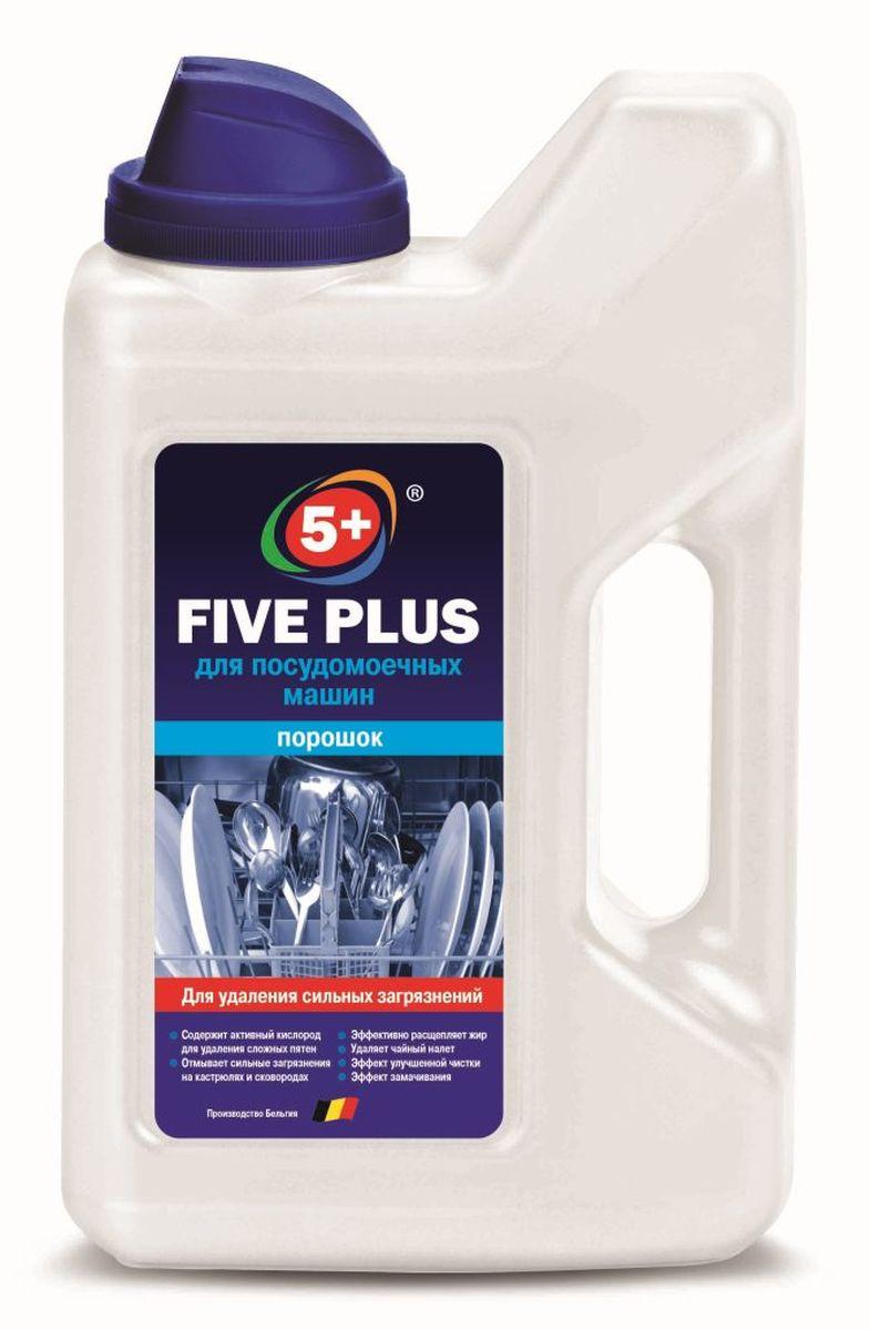 Порошок для посудомоечных машин 5+ Five Plus, 1000 мл4602984008063FIVE PLUS ПОРОШОК ДЛЯ ПОСУДОМОЕЧНЫХ МАШИН . Содержит мощные компоненты для удаления сильных загрязнений на кастрюлях и сковородах. Требует дополнительного применения соли и ополаскивателя. Состав: ?15%, но менее 30% фосфатов, ?5%, но менее 15% отбеливатель на основе кислорода, <5% НПАВ, ароматизирующая отдушка, энзимы.