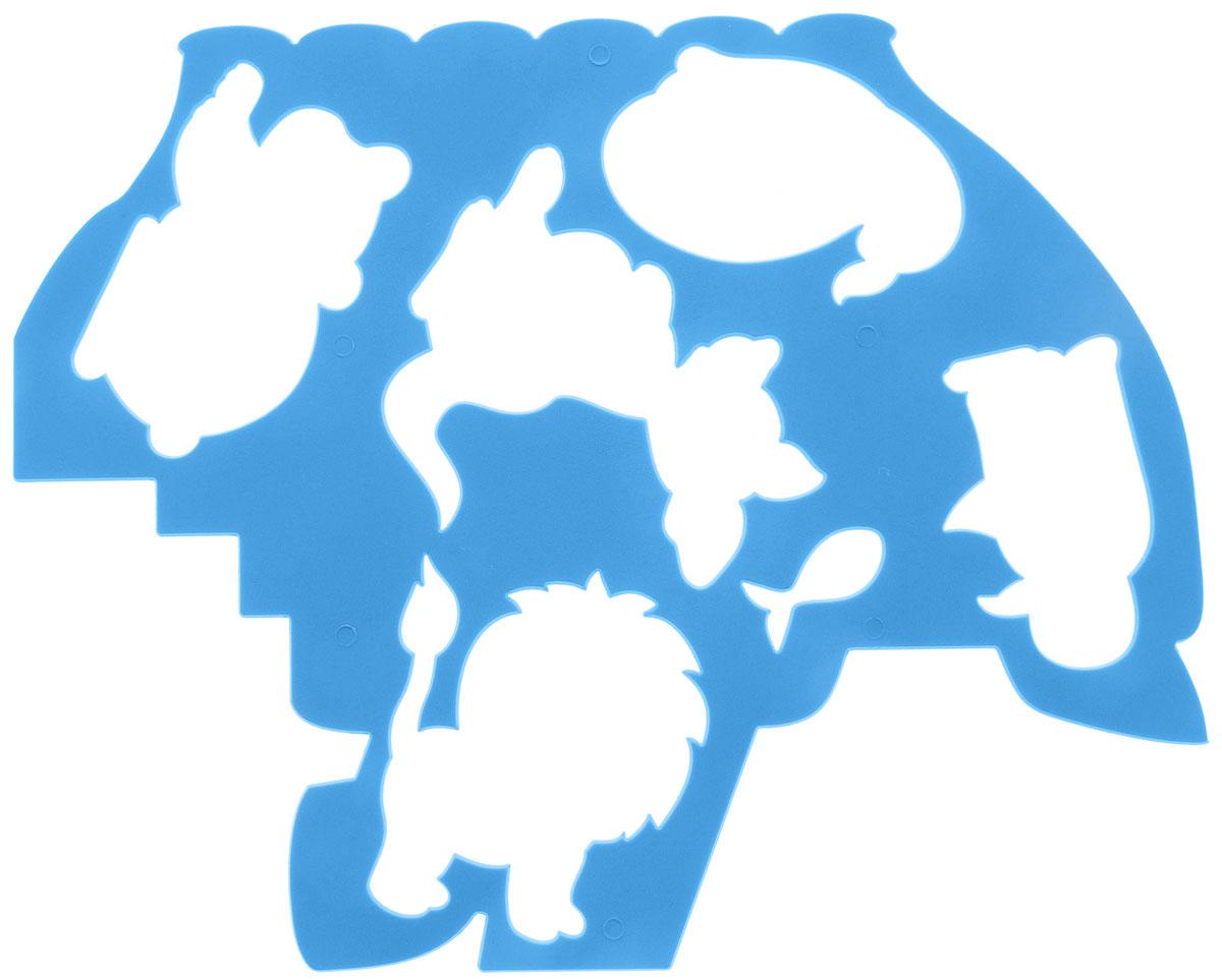 Луч Трафарет фигурный Кораблик и друзья цвет голубой19045_голубойТрафарет фигурный Луч Кораблик и его друзья, выполненный из безопасного пластика, предназначен для детского творчества. При помощи этого трафарета ребенок может нарисовать корабль и различных животных. Также в набор входит основа с нанесенными контурами животных и кораблика, размещенных на трафарете. Трафарет можно использовать для рисования отдельных персонажей и композиций, а также для изготовления аппликаций. Трафареты предназначены для развития у детей мелкой моторики и зрительно- двигательной координации, навыков художественной композиции и зрительного восприятия.