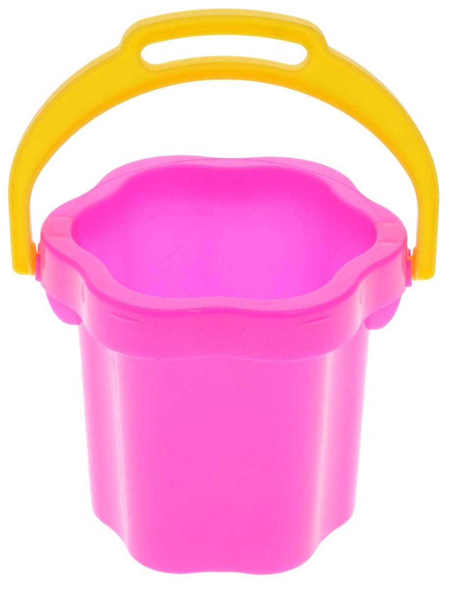 Stellar Ведро Цветок цвет розовый 0,3 л1202_розовыйДетское ведерко Stellar Цветок привлечет внимание вашего ребенка и станет незаменимым аксессуаром его игр в песочнице. Ведро выполнено из безопасного пластика в форме цветка. С помощью ведерка ребенок сможет переносить песок и воду, лепить замки и многое другое. С таким аксессуаром игры на свежем воздухе принесут вашему малышу одно удовольствие! Объем ведра: 0,3 л.