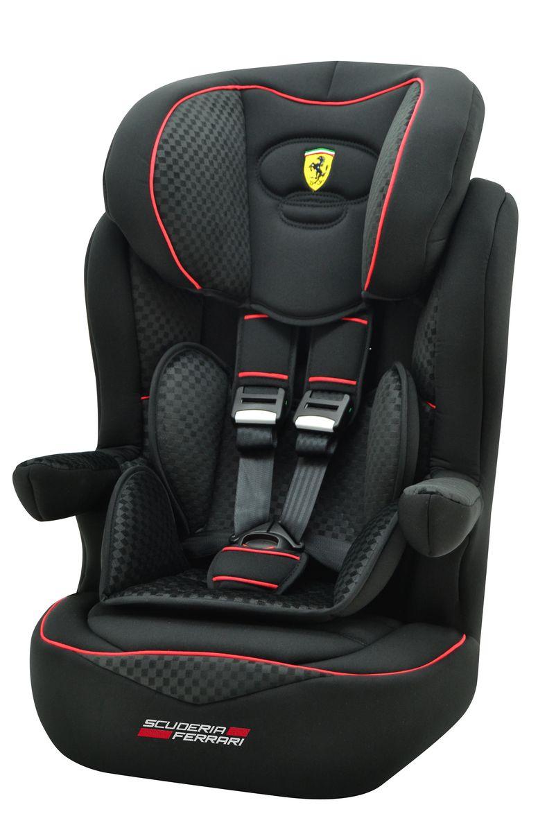 Nania Автокресло Imax SP Ferrari Black от 9 до 36 кг922054Автокресло Nania Imax SP группы 1-2-3 предназначено для детей весом от 9 до 36 кг (от 8 месяцев до 12 лет) и соответствует стандартам ECE R44/04. Благодаря длительному периоду использования и регулируемому по высоте подголовнику Nania Imax SP охватывает все возрастные группы от 8 месяцев до 12 лет (когда кресло уже не нужно). Nania Imax SP было разработано на основе требований безопасности, а также ортопедических факторов: мягкие обивка и подушки, а также анатомическая форма Nania Imax SP обеспечивает комфорт даже в дальних поездках. Nania Imax SP имеет удобные подлокотники, которые при необходимости можно поднять вверх. Система боковой защиты Side Protection (SP) обеспечивает необходимую безопасность даже при боковом столкновении. Подголовник можно отрегулировать по высоте, таким образом автокресло оптимально адаптируется к росту ребенка. 5-ти точечные ремни безопасности можно регулировать не только по длине и высоте, но и снять совсем, когда ребенок подрастет. ...