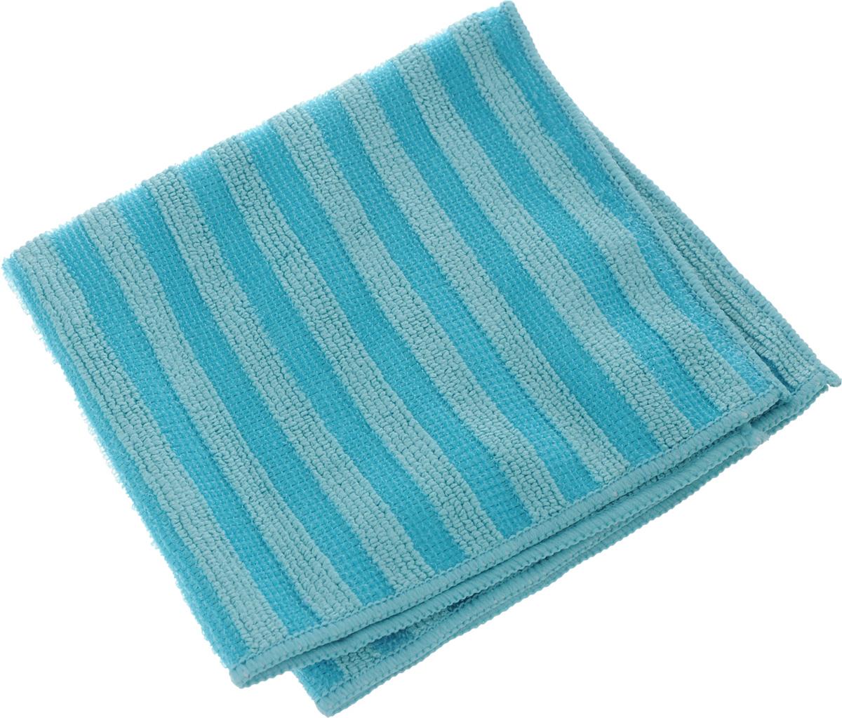 Салфетка Sol Crystal из микрофибры, двухсторонняя, цвет: голубой, 30 x 30 см20004/70014_голубойСалфетка Sol Crystal выполнена из микрофибры с разносторонним плетением: одна сторона с абразивными полосками удаляет стойкие загрязнения и известковый налет, другая - мягко полирует поверхности и хорошо впитывает влагу. Можно применять различные моющие средства. Устойчива к деформациям при машинной стирке. Не оставляет разводов и ворсинок. Размер салфетки: 30 х 30 см.
