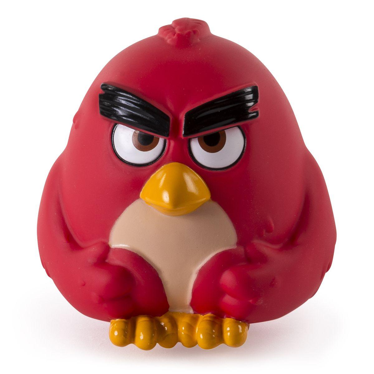 Angry Birds Фигурка Птичка-шарик Red90503Фигурка Angry Birds Птичка-шарик Red создана по мотивам популярнейшей во всем мире компьютерной игры Angry Birds! Эта игра настолько полюбилась и детям, и взрослым, что по ее сюжету стали рисовать мультфильмы. И вот, наконец, созданы игрушки в виде этих смешных персонажей, которыми можно кидаться, запускать из рогаток и играть как с обычными мячиками! Игрушка представляет собой шарообразный мячик размером около 10 см, изготовленный из винила, в виде красной птички. Мячик очень упругий, но достаточно мягкий - легко сжимается в руке, прыгает, отскакивает от поверхностей. Пригласите друзей и устройте собственную битву птичек и поросят!