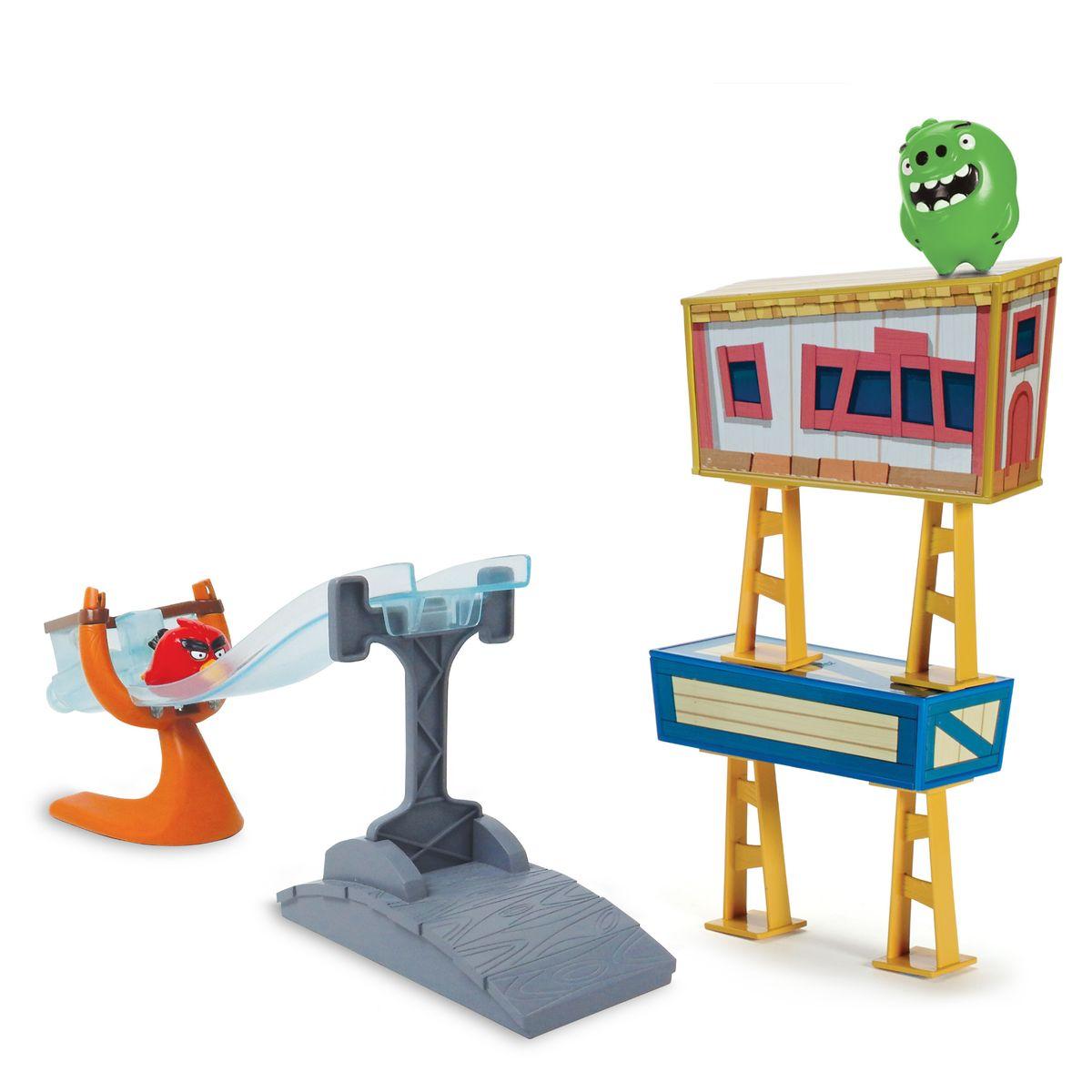 Angry Birds Игровой наборТрек сердитых птичек90505В наборе трек, машинка птичка на колесиках, поросенок, кубики и блоки. 1 вид в ассортименте.