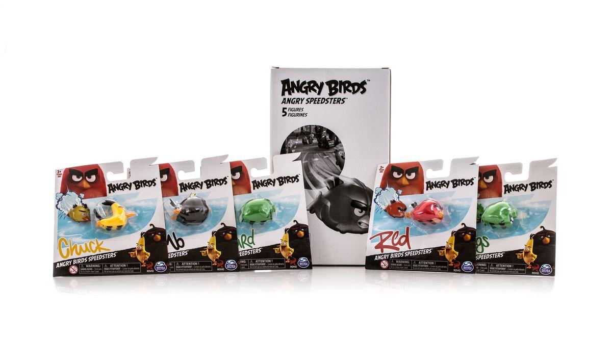 Angry Birds Набор машинок Птичка на колесиках 5 шт90508Игровой набор из 5 машинок птичек на колесах. 5 блистеров в коробке. 2 вида в ассортименте.