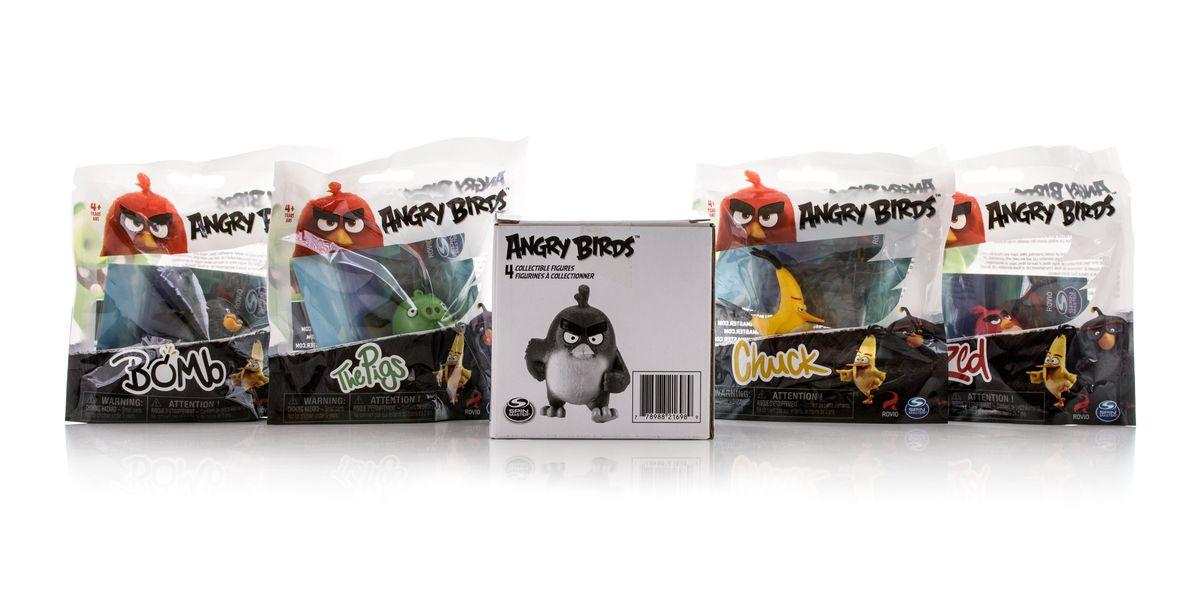 Angry Birds Игровой набор 4 шт90509Игровой набор из 4 сердитых птичек. 4 пакетика в коробке. 3 вида в ассортименте.