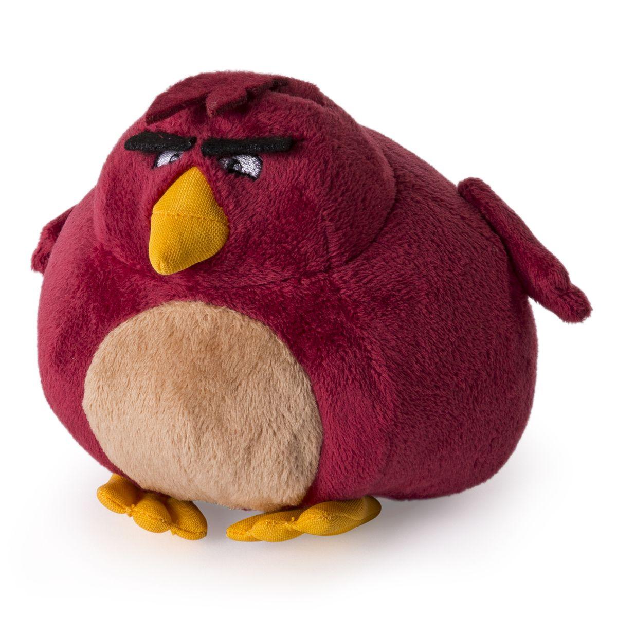 Angry Birds Мягкая игрушка Птица Terence 13 см90513Мягкая игрушка Angry Birds Птица Terence подарит вашему ребенку много радости и веселья. Удивительно приятная на ощупь игрушка выполнена в виде всем известного персонажа из популярной игры Angry Birds - взрывной птицы по имени Terence. Чудесная мягкая игрушка непременно поднимет настроение своему обладателю и станет замечательным подарком к любому празднику.