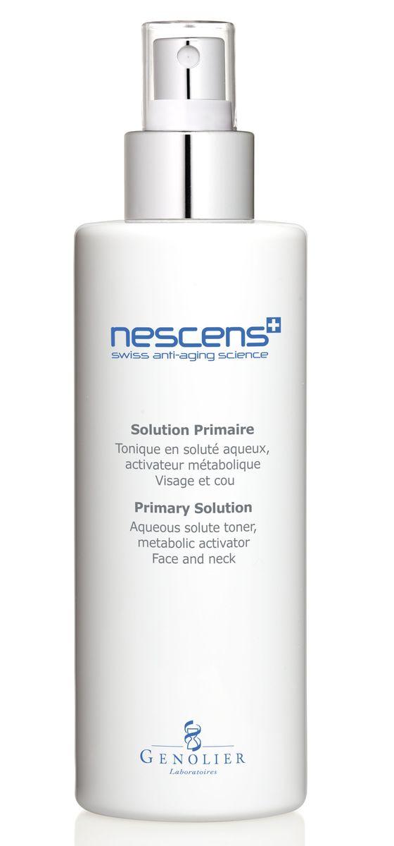 Nescens Тоник-активатор, 200 млNS00111Тонизирующий лосьон на водной основе, метаболический активатор для лица и шеи. Не содержащит спирт и красители, содействует восстановлению кожного гомеостаза, возобновлению жизненных функций эпидермиса и нормализации гидролипидного баланса. Укрепляет кожу, повышает ее тонус, сужает поры, выравнивает и совершенствует текстуру поверхности. Полезные космецевтические свойства: стимулирует метаболические функции клеток кожи, поддерживает естественный процесс эксфолиации – удаление мертвых клеток с поверхности кожи, усиливает проникновение в кожу активных ингредиентов, удерживает молекулы воды в роговом слое эпидермиса, восстанавливает естественный гидролипидный барьер и нормальный уровень рН кожи. Проявляет противовоспалительные свойства, завершает очищение кожи, удаляя остатки загрязнений и налет от жесткой воды.