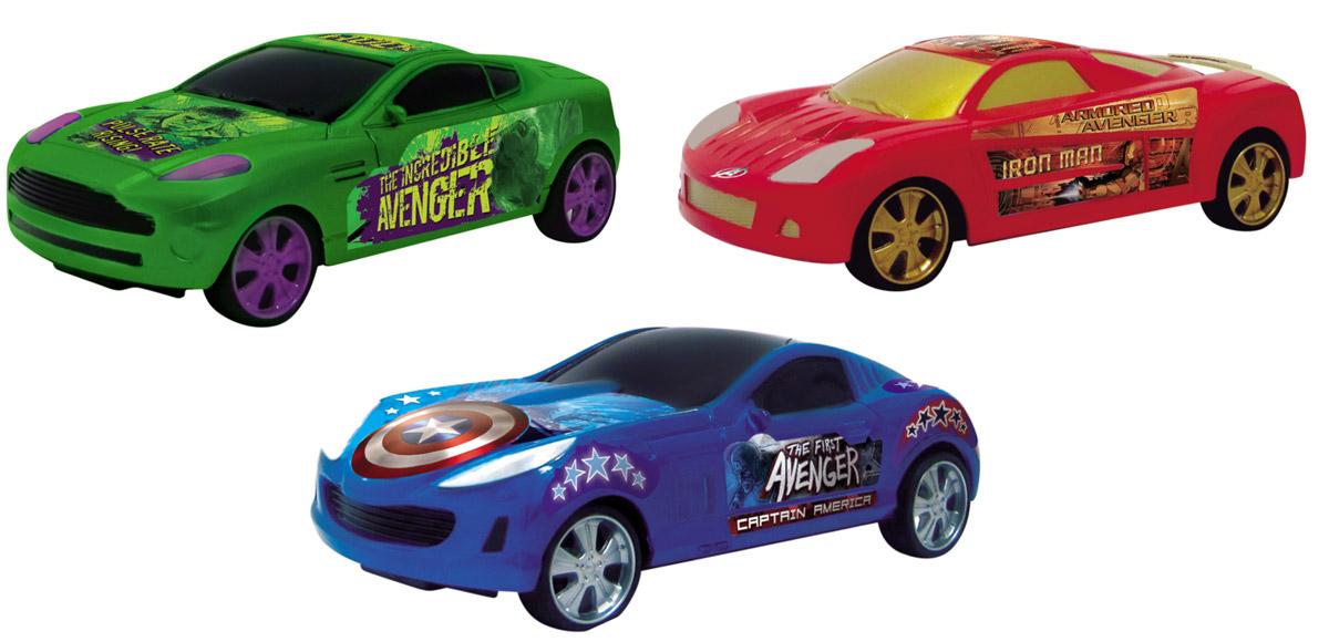 Avengers Набор машинок Super Combo 3 шт5067Набор машинок Avengers Super Combo включает в себя три машинки в виде героев знаменитого фильма Мстители. Машинки оснащены инерционным механизмом. Достаточно немного подтолкнуть машинку вперед или назад, и она поедет сама в том же направлении. Красочные машинки будут отличным подарком не только для поклонников Мстителей, но также для всех детей, любящих качественные, яркие и функциональные машинки!