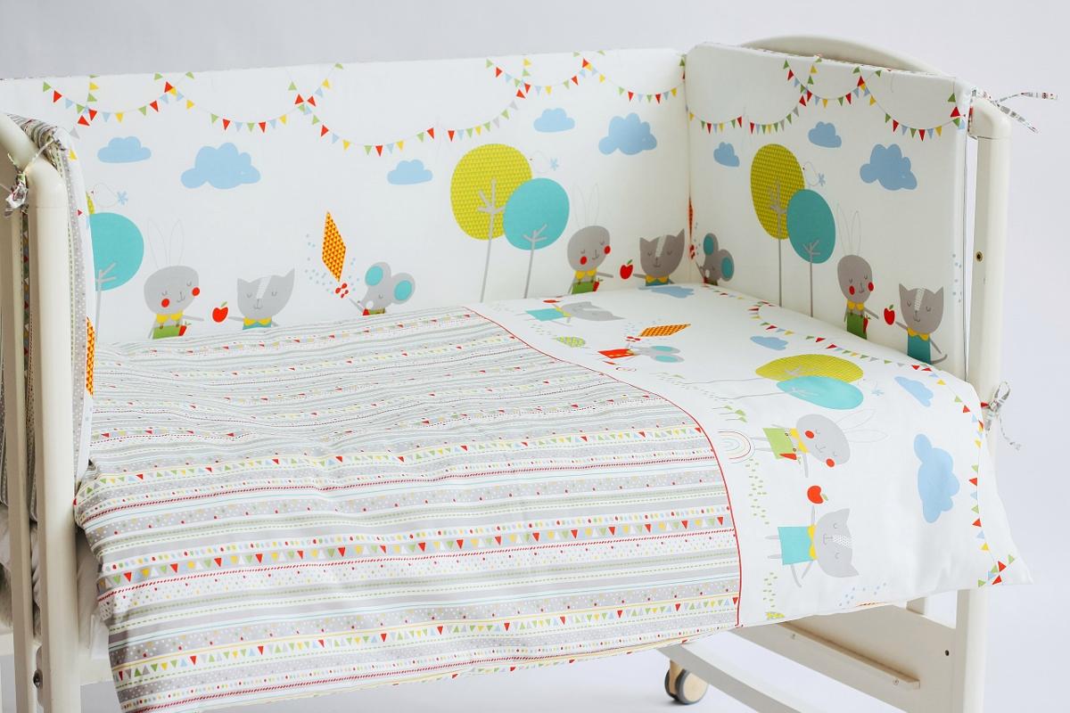 Rabby Baby Бортик для кровати Дождик 360 см