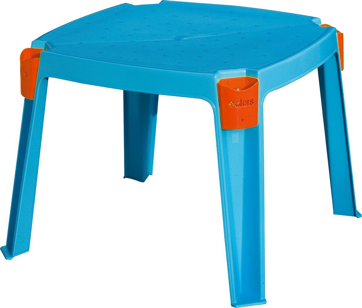 Marian Plast Стол детский с карманами364Удобный детский столик необходим каждому ребенку. За столиком ребенок может играть, заниматься творчеством. Столик сделан из прочного, но легкого пластика. Имеет удобные кармашки для хранения предметов.