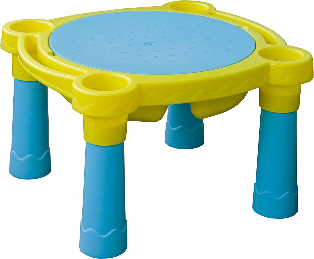 Marian Plast Стол детский Песок-Вода375Стол Песок-Вода - оригинальная игрушка для детей. Модель представляет собой стол-песочницу для детей от 3 лет.