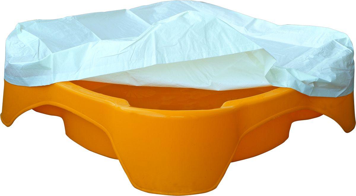 Marian Plast Песочница квадратная с покрытием378Красочная песочница незаменима для игр на воздухе. Высокий бортик 25 см. Можно использовать как песочницу и как бассейн. Благодаря покрытию, песочница-бассейн будет защищена от внешних воздействий.