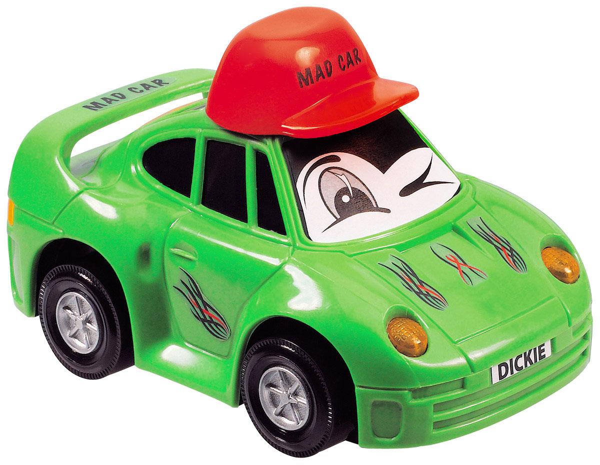 Dickie Toys Веселая машинка цвет салатовый3313007_салатовыйВеселая машинка Dickie Toys непременно привлечет внимание малыша благодаря яркому дизайну. Лобовое стекло машинки оформлено наклейкой в виде глазок. Машина оснащена световыми эффектами. Игрушка выполнена из абсолютно безопасного высококачественного пластика. С такой машинкой ребенок может играть как дома, так и на улице. Игра с машинкой помогает развивать мелкую моторику, цветовое восприятие, координацию движений, а также является хорошим средством для развлечения ребенка. Для работы машинки необходимо купить 2 батарейки типа АА (не входят в комплект).