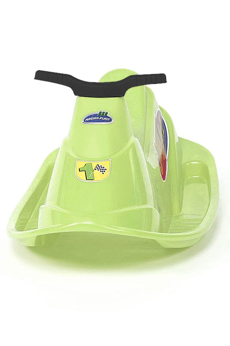 Marian Plast Качели Водный мотоцикл цвет салатовый