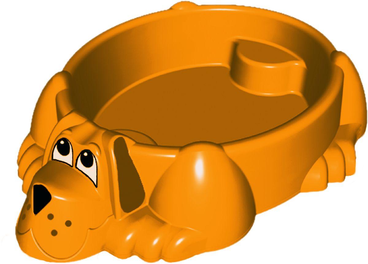 Marian Plast Бассейн Собачка цвет оранжевый