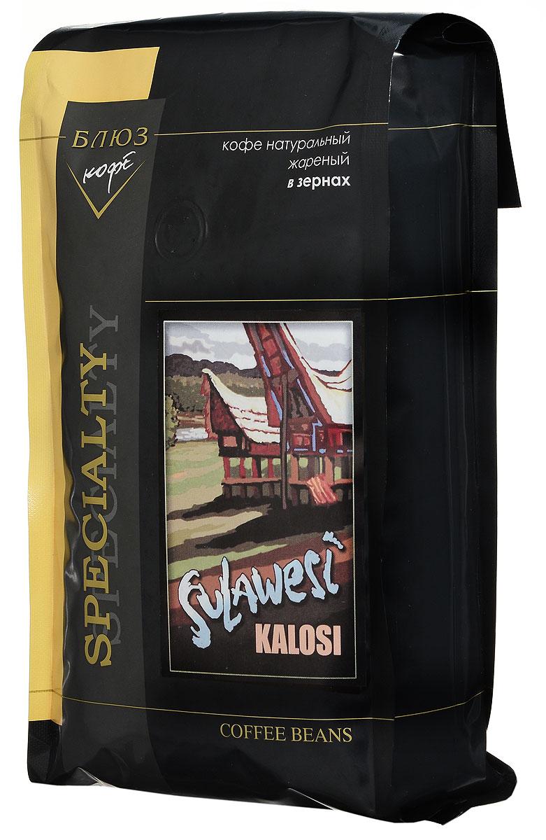 Блюз Индонезия Сулавеси Калоси кофе в зернах, 1 кг4600696210033Кофе Блюз Индонезия Сулавеси Калоси выращивается на острове Сулавеси в регионе Enrekang к югу от гор Tana Toraja. Возраст острова превышает 100 миллионов лет, почва богата железом, что оказывает значительное влияние на нейтральный, хорошо сбалансированный вкус кофе. Напиток имеет приятный сладкий привкус ореха и тонкий аромат.