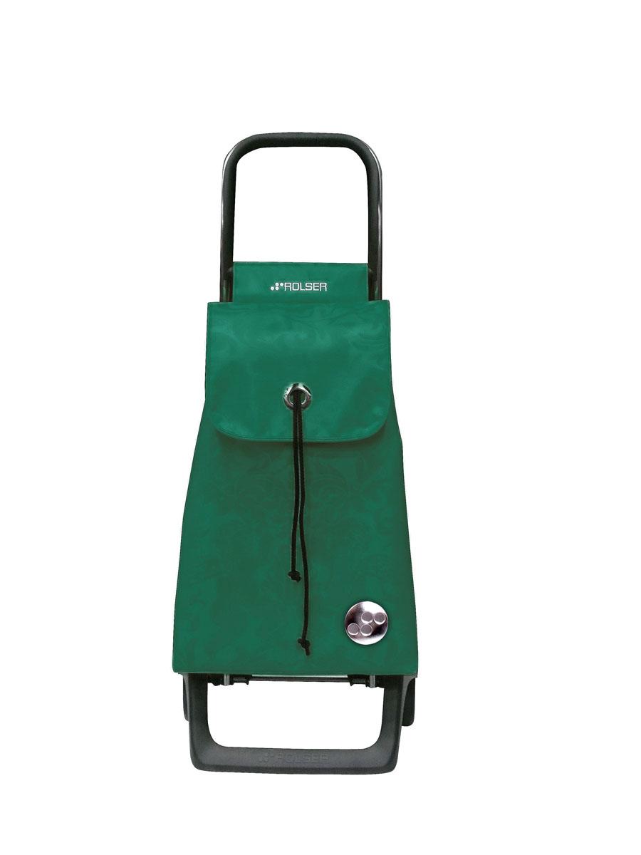 Сумка хозяйственная Rolser, на колесиках, цвет: verde, 36 лBAB008 verdeАлюминиевая тележка для покупок с 2 колесами, диаметр колес 13,2 см, колеса резина EVA. Эргономичная ручка, складываемая передняя подставка. Сумка имеет форму рюкзака, объем 36 л, ткань полиэстер, влагоустойчивая, имеет удобное закрытие сумки и легко крепиться на раме. Тележка не складывается. Рекомендованная нагрузка 25 кг, чистка ручная или химчистка.