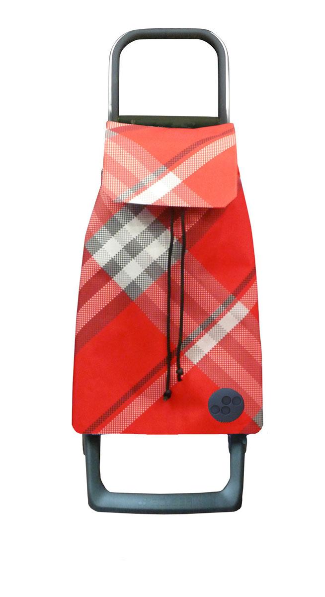 Сумка хозяйственная Rolser, на колесиках, цвет: rojo, 36 лBAB010 rojoАлюминиевая тележка для покупок с 2 колесами, диаметр колес 13,2 см, колеса резина EVA. Эргономичная ручка, складываемая передняя подставка. Сумка имеет форму рюкзака, объем 36 л, ткань полиэстер, влагоустойчивая, имеет удобное закрытие сумки и легко крепиться на раме. Тележка не складывается. Рекомендованная нагрузка 25 кг, чистка ручная или химчистка.