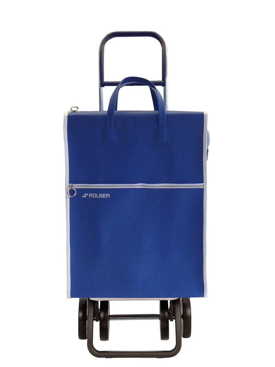 Сумка хозяйственная Rolser, на колесиках, цвет: azul, 40 л. LID002LID002 azulАлюминиевая тележка для покупок с 4 колесами, диаметр колес 14 см, быстро трансформируется с 2 на 4 колеса, колеса резина EVA. Эргономичная ручка, складываемая передняя подставка. Объем 40 л, ткань полиэстер, влагоустойчивая, имеет удобное закрытие сумки и легко крепится на раме. Тележка не складывается. Рекомендованная нагрузка 25 кг, чистка ручная или химчистка.