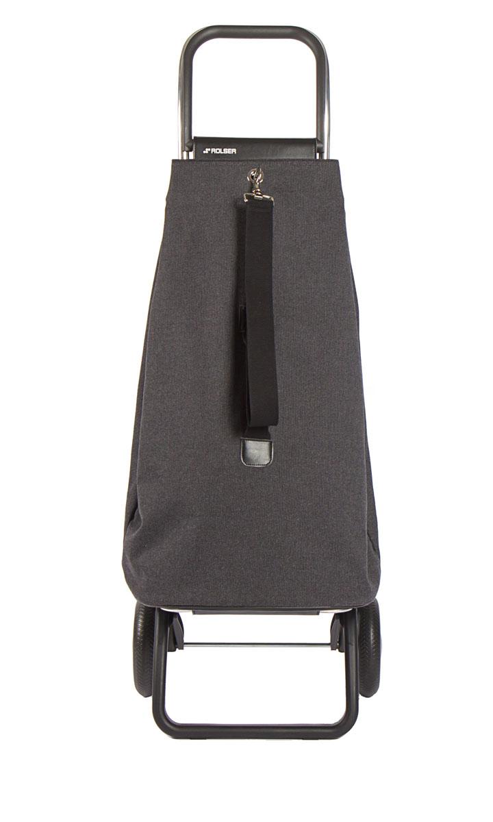 Сумка хозяйственная Rolser, на колесиках, цвет: carbon, 57 лMAK001 carbonСумка-рюкзак-тележка для путешествий и покупок с 2 колесами, диаметр колес 16,5 см. Можно использовать как ручную кладь в самолете и носить отдельно от рамы, есть внутренняя съемная подкладка, оригинальная застежка, капюшон для защиты от дождя верхнего отверстия. 2 типа сложение: двойное сложение рамы и передней подставки, занимает минимальное место в сложенном виде при хранении, имеет специальное устройство для прикрепления к тележке супермаркета. Объем сумки 57 л, рекомендованная нагрузка 25 кг, каркас алюминий, колеса резина EVA, ткань полиэстер. Тележка складывается. Рекомендованная нагрузка 25 кг, чистка ручная или химчистка.