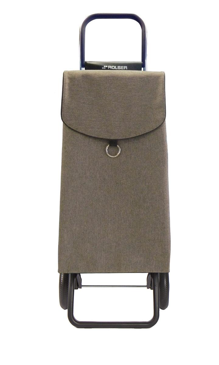 Сумка хозяйственная Rolser, на колесиках, цвет: granito, 41 лPEP002 granitoАлюминиевая тележка для покупок с 2 колесами, диаметр колес 16,5 см, колеса резина EVA. Эргономичная ручка, складываемая передняя подставка, занимает минимальное место в сложенном виде при хранении. Объем сумки 41 л, ткань полиэстер, влагоустойчивая, имеет удобное закрытие сумки и легко крепится на раме. Тележка не складывается. Рекомендованная нагрузка 25 кг, чистка ручная или химчистка.