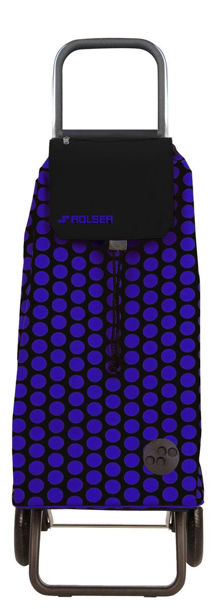 Сумка хозяйственная Rolser, на колесиках, цвет: azul, negro, 51 лMOU047 azul/negroАлюминиевая тележка для покупок с 2 колесами, диаметр колес 16,5 см. Складываемая передняя подставка, занимает минимальное место в сложенном виде при хранении, ,большой объем сумки 51л. Рекомендованная нагрузка 25 кг, каркас алюминий, колеса резина EVA, ткань полиэстер, влагоустойчивая. Тележка не складывается. Рекомендованная нагрузка 25 кг, чистка ручная или химчистка.