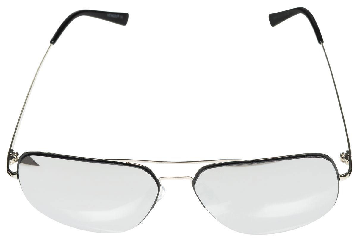 Очки солнцезащитные женские Vitacci, цвет: серебряный, черный. G164G164Стильные солнцезащитные очки Vitacci выполнены из металла с элементами из высококачественного пластика. Линзы данных очков имеют степень затемнения С2, а также обладают высокоэффективным поляризационным покрытием со степенью защиты от ультрафиолетового излучения UV400. Используемый пластик не искажает изображение, не подвержен нагреванию и вредному воздействию солнечных лучей. Оправа очков легкая, прилегающей формы, дополнена носоупорами и поэтому обеспечивает максимальный комфорт. Такие очки защитят глаза от ультрафиолетовых лучей, подчеркнут вашу индивидуальность и сделают ваш образ завершенным.