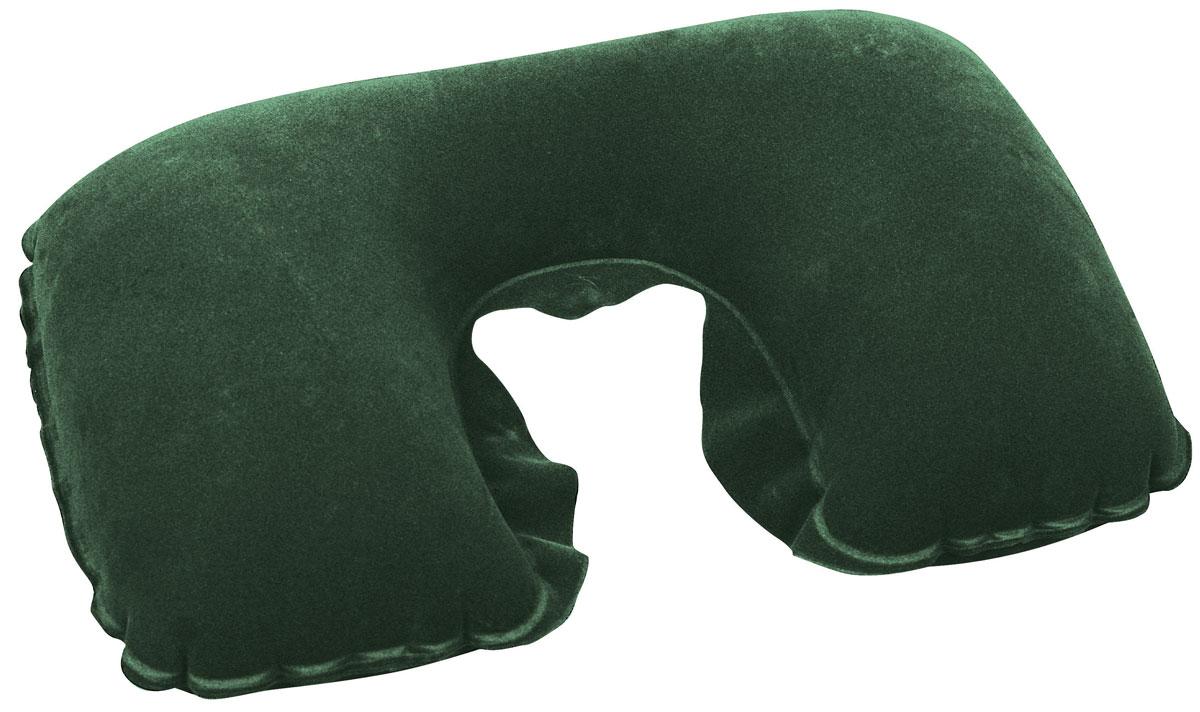 Bestway Подушка надувная под шею, цвет: зеленый, 46 х 28 см67006_зеленыйПодушка надувная под шею, цвет:, 46х28 см